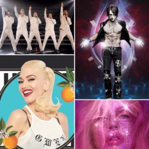 Planet Hollywood Las Vegas show - Backstreet Boys, Criss Angel, Christina Aguilera, and Gwen Stefani