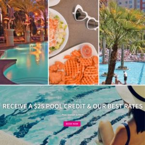 Receive a $25 Pool Credit & Our Best Rates / Pool Season is Here / Book Now with Flamingo Las Vegas