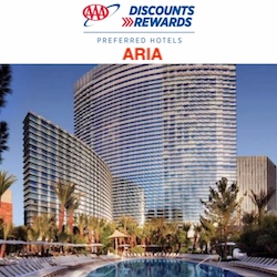 AAA Discounts and Rewards with Aria Las Vegas