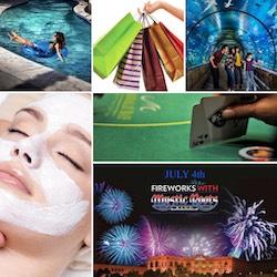 The many different activities at Mandalay Bay Las Vegas