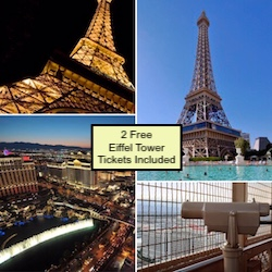 2 Free Eiffel Tower Tickets Included - Bally's Las Vegas