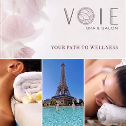 Voie Spa & Salon / Your Path To Wellness at Paris Las Vegas