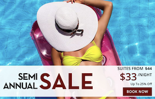 Semi-Annual Sale  - Suites from $33 with Rio Las Vegas