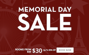 Memorial Day Flash Sale with Harrah's Las Vegas