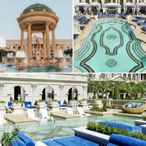 Caesars Palace Las Vegas - Piscines